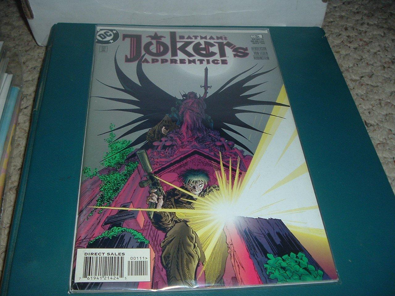 56 Pages: Batman: Joker's Apprentice #1 1-Shot Graphic Novel VERY FINE (DC Comics) for sale