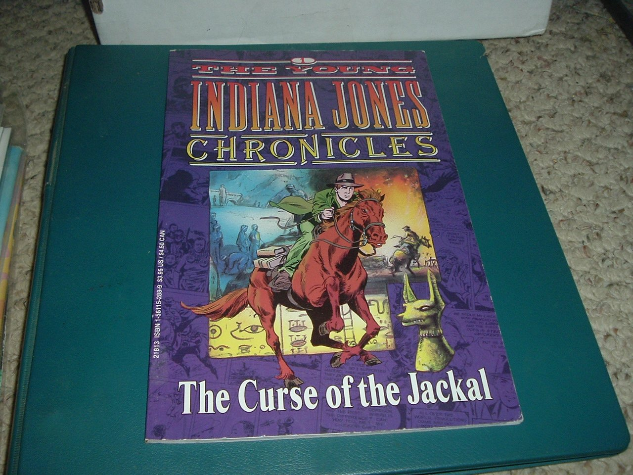 Young Indiana Jones Chronicles Volume 1: Curse of the Jackal GN (Dark Horse bookshelf graphic novel)