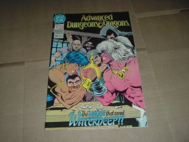 Advanced Dungeons & Dragons #33 VERY FINE (DC Comics 1991 TSR) Save $$$ with Flat Shipping Special