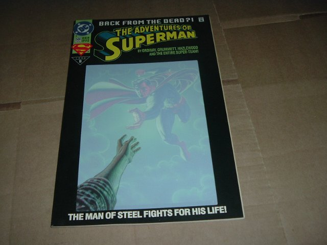 Adventures of Superman #500 Collector's Edition (DC Comics 1993).SM's the Return from Death