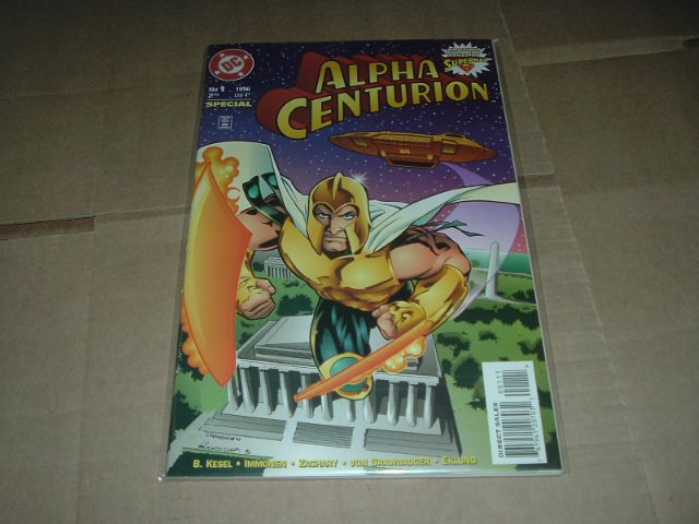 Alpha Centurion Special #1 VERY FINE+ Superman Spin-Off (DC Comics 1996) Save $$$ Shipping Special