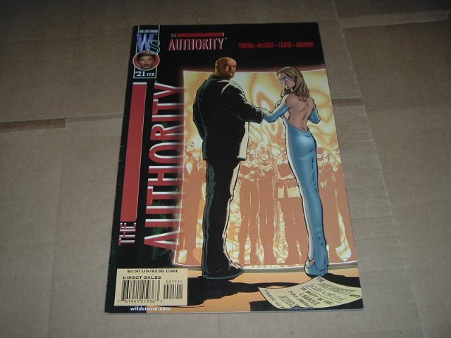 Authority #21 (vol 1) Intro. of The Monrachy (DC Wildstorm Comics 2001) FLAT RATE SHIPPING SPECIAL