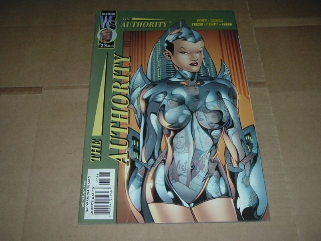 Authority #23 (vol 1) Tom Peyer (DC Wildstorm Comics 2001) FLAT RATE SHIPPING SPECIAL