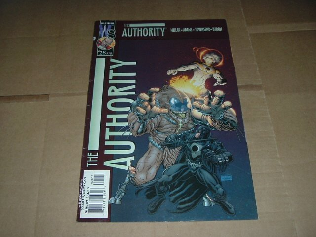 Authority #28 (vol 1) Mark Millar, Art Adams (DC Wildstorm Comics 2002) FLAT RATE SHIPPING SPECIAL