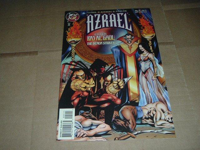 Azrael #5 NEAR MINT- Ras Al Ghul (DC Comics 1995 Batman spin-off) Save $$$ Flat Shipping Special