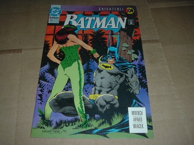 Batman #495 Starring POISON IVY, VERY FINE+ (DC Comics 1993) Save $$ Flat Rate Shipping Special