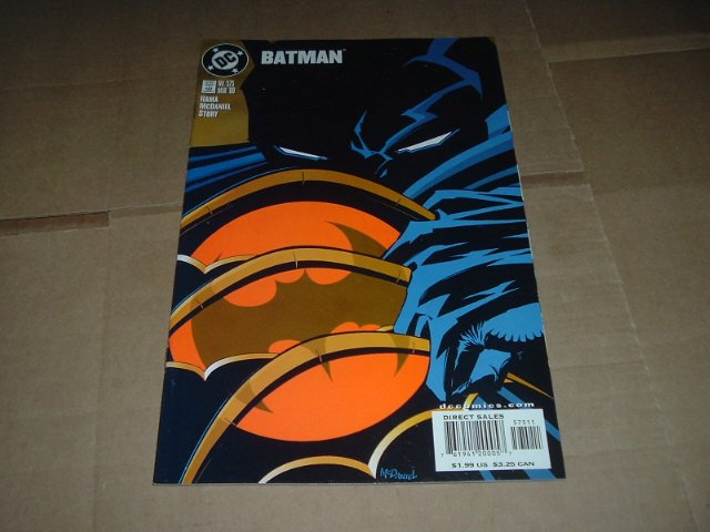 Batman #575 VF-, 1st issue after No Man's Land ended (DC Comics 2000) Save $$$ Flat Shipping Special