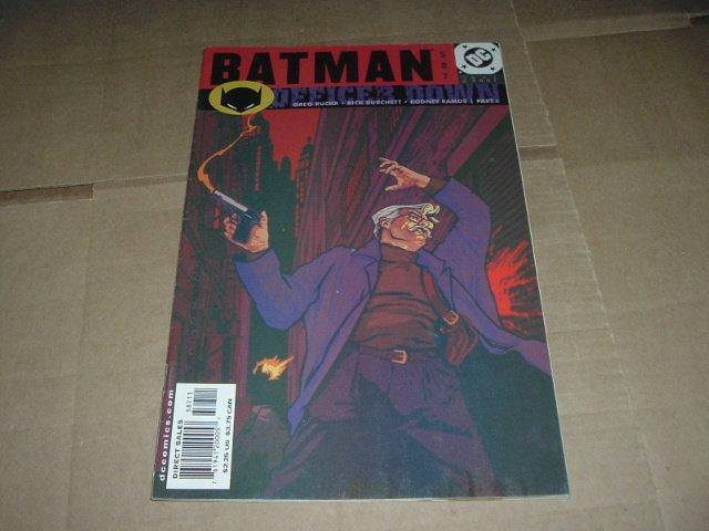 Batman #587 Jim Gordon shot, Officer Down 1 (DC Comics 2001) Save $$$ Flat Rate Shipping Special