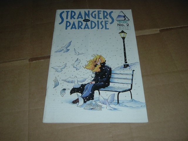 Strangers in Paradise #2 (vol. 2) VERY FINE-, Terry Moore (Abstract Studio) Save $$ Shipping Special