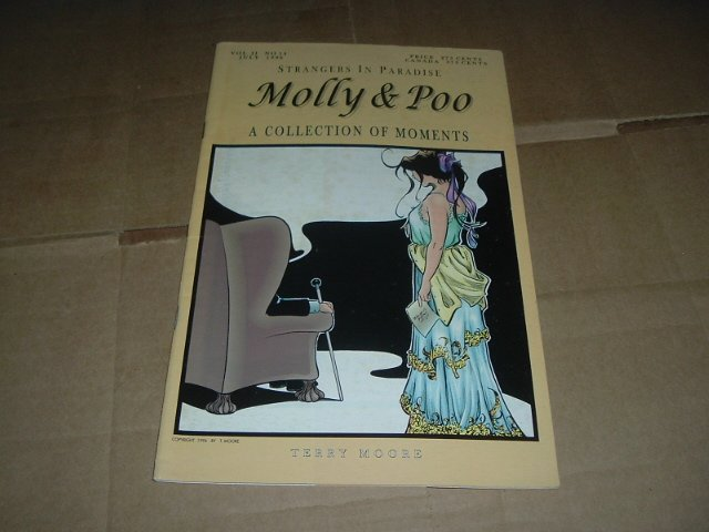 Strangers in Paradise: Molly & Poo Special Collection of Moments, Terry Moore (Abstract Studio)