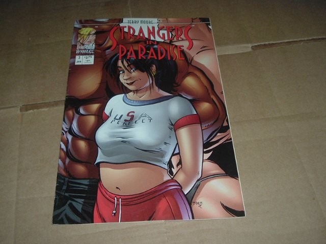 Strangers in Paradise #3 (vol. 3) Terry Moore IN COLOR (Abstract Studio/Homage Comics) see Special