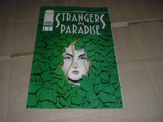 Strangers in Paradise #8 (vol. 3) VERY FINE- Terry Moore (Abstract Studio/Homage Comics) see Special