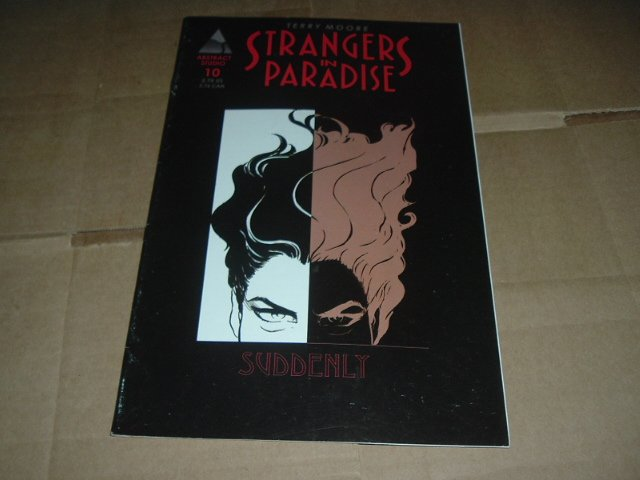 Strangers in Paradise #10 (vol. 3) Terry Moore (Abstract Studio) Save $$ with Flat Shipping Special