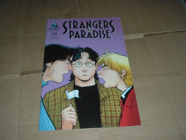 Strangers in Paradise #20 (vol. 3) VERY FINE- Terry Moore (Abstract Studio) Save $$ Shipping Special