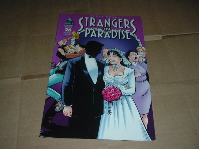 Strangers in Paradise #26 (vol. 3) VERY FINE Terry Moore (Abstract Studio) Save $$ Shipping Special