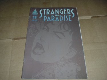 Strangers in Paradise #28 PAPER DOLLS Katchoo/Francine Insert INTACT, Terry Moore Abstract Studio