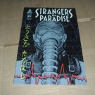 Strangers in Paradise #29 (Vol. 3) PAPER DOLLS back cover INTACT, Terry Moore (Abstract Studio)