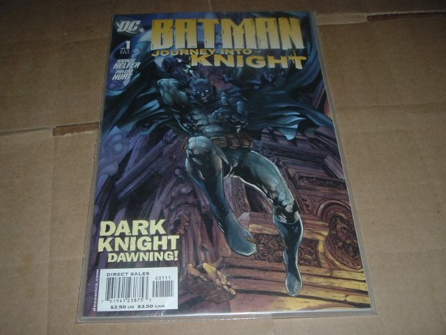 Batman: Journey into Knight #1 VERY FINE (DC Comics 2005) Save $$$ with Flat Rate Shipping Special