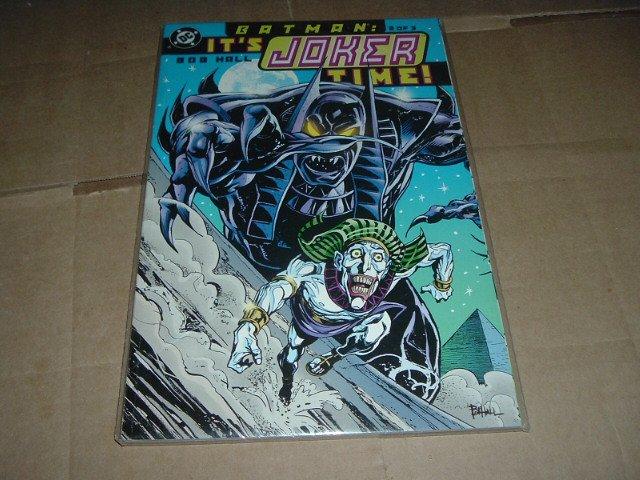 NEW UNREAD Batman: It's Joker Time #2 NEAR MINT (DC Comics 2000) Prestige Format Graphic Novel GN