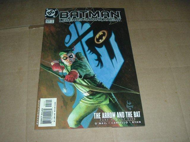 Batman: Legends of the Dark Knight #127 VERY FINE- Green Arrow and the Bat part 1 (DC Comics 2000)