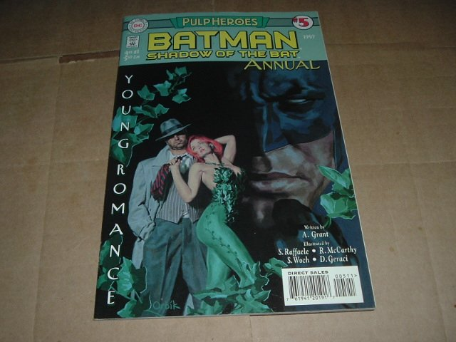 Batman: Shadow of the Bat Annual #5 VERY FINE+ Pulp Heroes starring POISON IVY (DC Comics 1997)