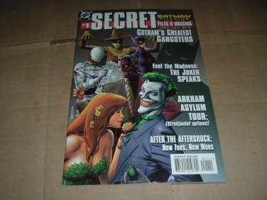 Batman Villains: Secret Files & Origins #1 64-page Special (DC Comics 1998) Save $ Shipping Special