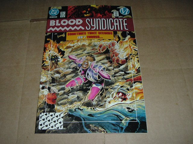 Blood Syndicate #6 VERY FINE+ (DC Milestone Comics 1993) Save $$$ with Flat Rate Shipping Special
