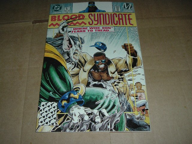 Blood Syndicate #7 VERY FINE (DC Milestone Comics 1993) Save $$$ with Flat Rate Shipping Special