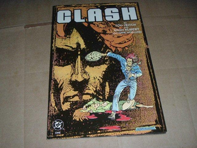 Clash #1 VF+, Book One, Prestige Format (DC Comics 1991) Bookshelf Edition Graphic Novel GN