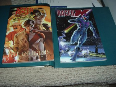Speed Racer and Racer X Comic Collection Trade Paperbacks IDW & Wildstorm Graphic Novel TPB For Sale