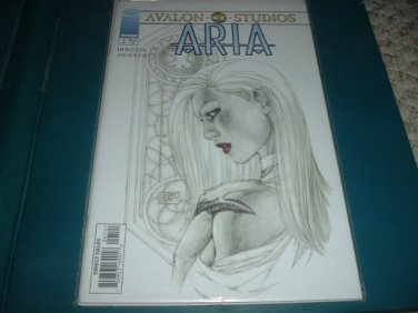 Aria #1 VARIANT Michael Turner Sketch Cover NEAR MINT- (Image Comics) Save $$ Ship Special, for sale