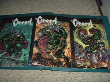 Creech #1-3 FULL SET (Image Comics, Greg Capullo) COMPLETE MINI-SERIES, 1 2 3 comic books for sale