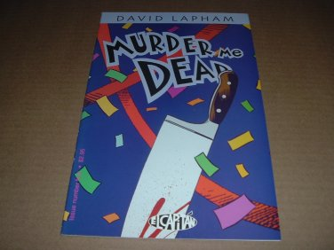 Murder Me Dead #4 VERY FINE+ (David Lapham, El Capitan Books, Stray Bullets), comic for sale