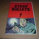 Stray Bullets #1 FIRST PRINT RARE, Very Fine+ (David Lapham, El Capitan Books) comic for sale