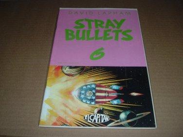 Stray Bullets #6 VF+ First Print, AMY RACECAR 1st app/intro (David Lapham, El Capitan) for sale