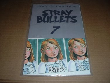 Stray Bullets #7 Very Fine+ FIRST PRINT (David Lapham, El Capitan Books) comic book for sale