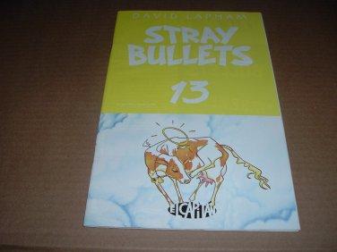 Stray Bullets #13 VF+/NEAR MINT- (David Lapham, El Capitan Books) FIRST PRINT comic book for sale