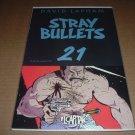 Stray Bullets #21 RARE, VF+/NEAR MINT- (David Lapham, El Capitan Books) FIRST PRINT for sale