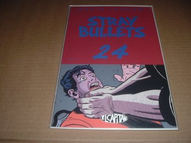 Stray Bullets #24 NEAR MINT- (David Lapham, El Capitan Books) FIRST PRINT comic for sale