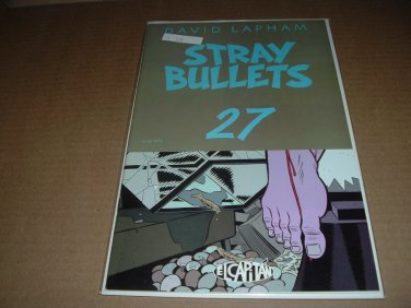 Stray Bullets #27 VERY FINE+ (David Lapham, El Capitan Books) FIRST PRINT comic for sale