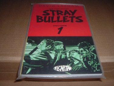 NEW UNREAD Stray Bullets Collected Vol. 1 RARE FIRST PRINT (David Lapham, El Capitan TPB) for sale