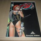 F5 #1 European Ediion Variant NEAR MINT, TONY DANIEL Story & Art (Image Comics 2000) comic for sale