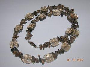 Smoky Quartz Necklace. Very Pretty.