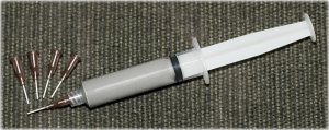 Kester EP256 Lead Solder Paste 63/37 Syringe Disp-Pak