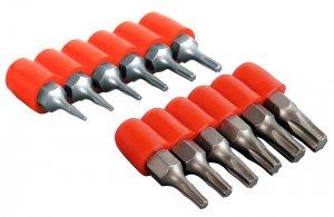 Mini Drill Bit Set Torx Star  T5 T6 to T30 12pcs