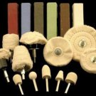 Metal & Plastic Deluxe Polishing Kit and Buffing Wheels