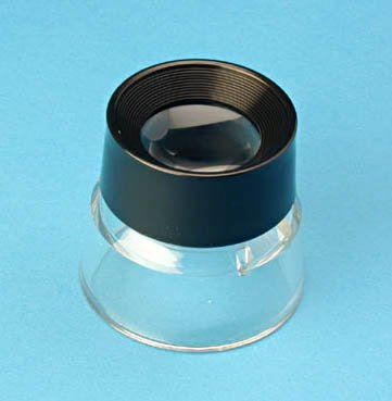 Carson LumiLoupe Stand Inspection Magnifier 10X Loupe