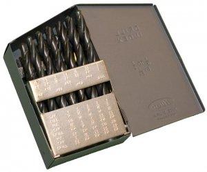 "Drill Bit Set M2 Premium 29pcs 1/16-1/2"" USA Huot Index"