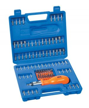Security Bit Tamper Proof Screwdriver Set 105pc