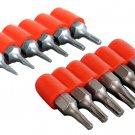 Torx Star Mini Drill Bit Combo Set 12pc T5 T6 to T30